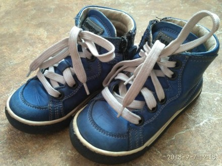 Осенние ботинки, кожа!!!. Краматорск. фото 1