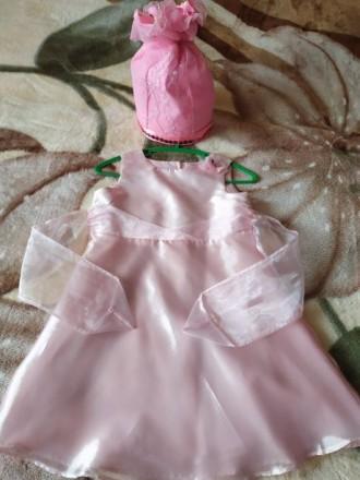 Платье конфетка с шапочкой. Суми. фото 1