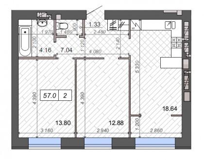 Ирпень. ЖК Новые Метры Park. Есть выбор этажей. Комплекс закрытого типа, видео. Ирпень, Киевская область. фото 3