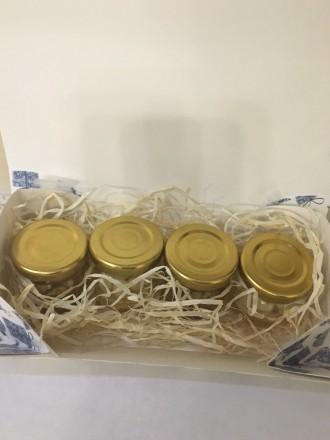 Мёд натуральный в подарочной упаковке. Собран на собственной пасеке в Черкасской. Киев, Киевская область. фото 5