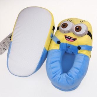 Мягкая плюшевая игрушка Minions Декоративные тапочки Миньоны из м/ф