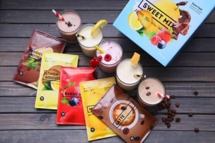 Energy Diet Smart «Sweet Mix» blue Ассорти из 5 вкусов. Киев. фото 1