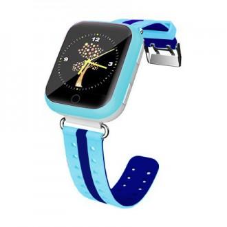 Детские часы-телефон с GPS WONLEX Q100S Blue. Киев. фото 1