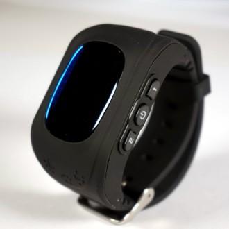 Детские часы с GPS WatchBaby Q50 Черные. Киев. фото 1
