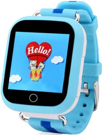 Смарт-часы UWatch Q100s Kid smart watch Blue (70_1345900). Киев. фото 1