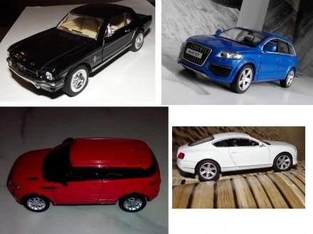 коллекционная модель  реалистичная копия  Audi Q7 v12  масштаб 1:32  цвет - н. Харків, Харківська область. фото 7
