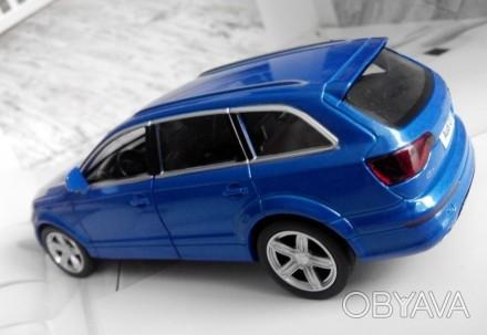 коллекционная модель  реалистичная копия  Audi Q7 v12  масштаб 1:32  цвет - н. Харків, Харківська область. фото 1