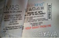 Брюки для девочки темно-серые,     skinkind Возраст: 6-7 лет   Англия Marks an. Киев, Киевская область. фото 3