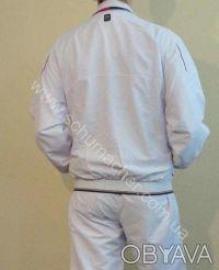 Белый мужской спортивный костюм. Киев. фото 1