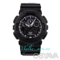 Копия Casio G-Shock GA-100 черные. Киев. фото 1