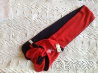 Продаю новый флисовый набор красно-синего цвета ТМ Мах, длина шарфика - 125 см, . Киев, Киевская область. фото 5