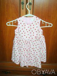 Платье детское H&M  на рост 86 см, 12-18 месяцев Длина 49 см, полуобхват груди . Киев, Киевская область. фото 4