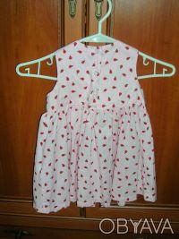 Платье детское H&M  на рост 86 см, 12-18 месяцев Длина 49 см, полуобхват груди . Киев, Киевская область. фото 3