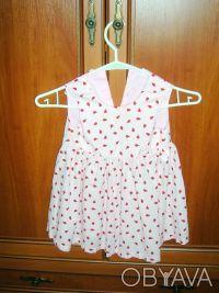 Платье детское H&M  на рост 86 см, 12-18 месяцев Длина 49 см, полуобхват груди . Киев, Киевская область. фото 2