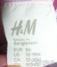 Платье детское H&M  на рост 86 см, 12-18 месяцев Длина 49 см, полуобхват груди . Киев, Киевская область. фото 5