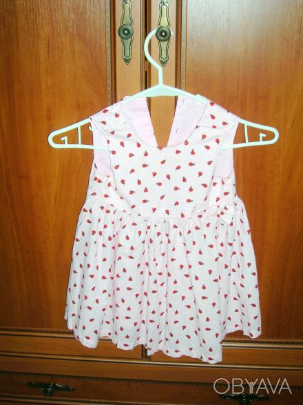 Платье детское H&M  на рост 86 см, 12-18 месяцев Длина 49 см, полуобхват груди . Киев, Киевская область. фото 1