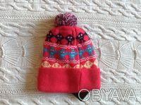 Продаю новую теплую шапочку розового цвета с принцессой Disney, указан размер 50. Киев, Киевская область. фото 3