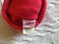 Продаю новую теплую шапочку розового цвета с принцессой Disney, указан размер 50. Киев, Киевская область. фото 4