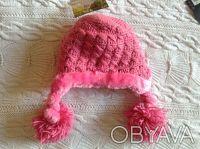 Продаю абсолютно новую с биркой теплую розовую шапочку Jamie rae hats. Указан ра. Киев, Киевская область. фото 4