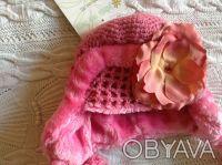 Продаю абсолютно новую с биркой теплую розовую шапочку Jamie rae hats. Указан ра. Киев, Киевская область. фото 6