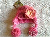 Продаю абсолютно новую с биркой теплую розовую шапочку Jamie rae hats. Указан ра. Киев, Киевская область. фото 2