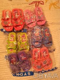 Шлёпанцы-босоножки для девочек 24-29 размер. Харьков. фото 1