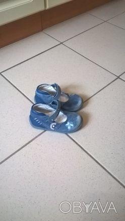 Кожаные туфельки...состояние нормальное...стельки ортопедические...с удобной и б. Київ, Київська область. фото 1