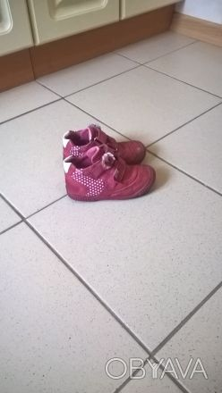 Кожаные туфельки...закрытого типа...с удобной застежкой...состояние нормальное... Киев, Киевская область. фото 1