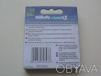 Лезвия Gillette Mach 3 упаковка 8 шт  Оригинал или нет, не знаю Доставка Ново. Киев, Киевская область. фото 3