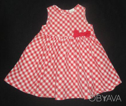 Платье H&M легкое тонкое из 100% хлопка, без подкладки. Смотрится ярко и нарядно. Сумы, Сумская область. фото 1
