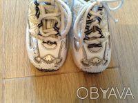 Продаю кожаные кроссовочки Fila, длина стельки 14 см. Верх - натуральная кожа. К. Киев, Киевская область. фото 4