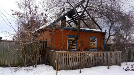 Продам участок с домом после пожара. Ріпки. фото 1