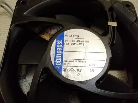 Немецкий промишленный вентилятор, производителя - ebmpapst серии 4184 NXH. 4184N. Киев, Киевская область. фото 3