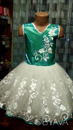 bbccc4f4344 ᐈ Шикарное платье на праздник ᐈ Славутич 650 ГРН - OBYAVA.ua™ №2911184