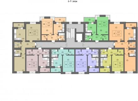 Продам простору одно кімнатну квартиру в новобудові ЖК - Жасмин на вулиці Лісові. Ирпень, Киевская область. фото 4