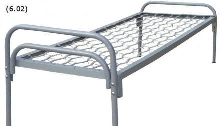 Кровать 190х70 спинка металлическая. Днепр. фото 1