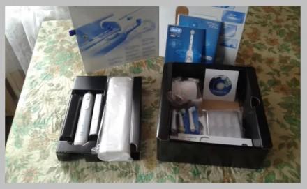 Продам Немецкую электронную зубную щетку Oral-B Genius Pro 9000. Сумы. фото 1