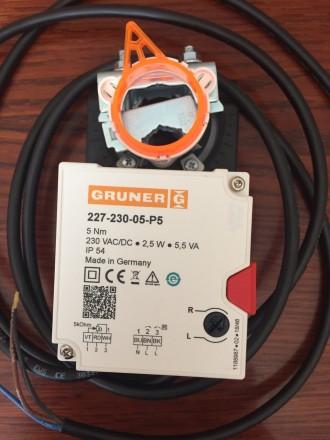 Электропривод Gruner 227-230-05-P5. Днепр. фото 1