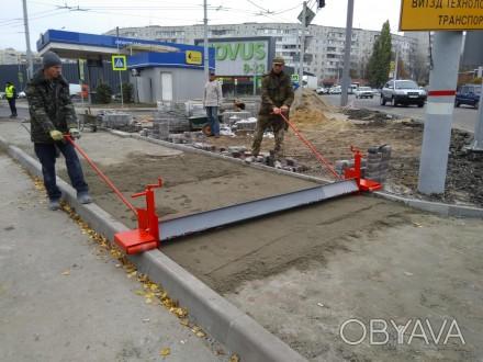 Для скоростной точной лёгкой и практичной подготовки под укладку тротуарной плит. Белая Церковь, Киевская область. фото 1