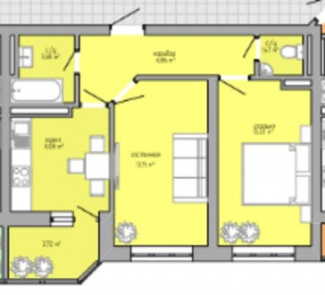 Новый строящийся жилой комплекс на Таирова, около Метро. Сдача 3 секции в сентяб. Киевский, Одесса, Одесская область. фото 4