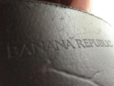 Классный ремень Banana Republic черного цветa. Натуральная кожа! Оригинальный ди. Сумы, Сумская область. фото 5