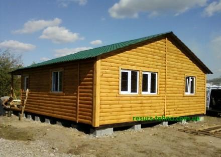 Предлагаем дачные домики по невысоким ценам от производителя на заказ. От 3000гр. ДВРЗ, Киев, Киевская область. фото 7