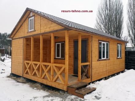 Предлагаем дачные домики по невысоким ценам от производителя на заказ. От 3000гр. ДВРЗ, Киев, Киевская область. фото 2