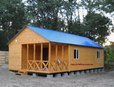 Предлагаем дачные домики по невысоким ценам от производителя на заказ. От 3000гр. ДВРЗ, Киев, Киевская область. фото 3