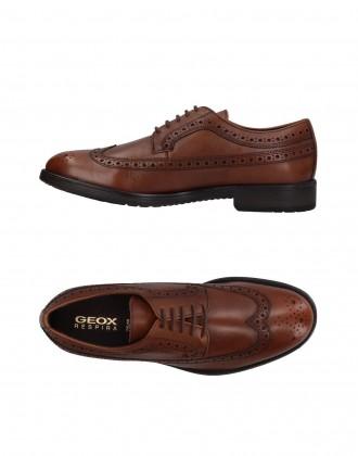 Модные мужские оригинальные туфли на шнуровке GEOX. Киев. фото 1