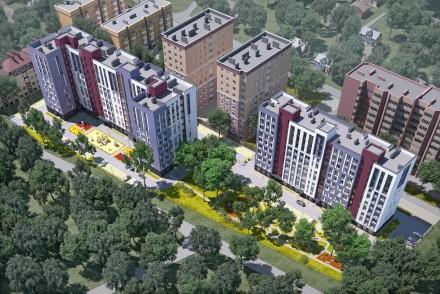 Квартира в ЖК Новые Метры Park! Площадь 37,5 м2, большая кухня 19 м2!  Ввод вс. Ирпень, Киевская область. фото 7