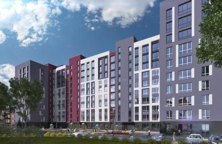 Квартира в ЖК Новые Метры Park! Площадь 37,5 м2, большая кухня 19 м2!  Ввод вс. Ирпень, Киевская область. фото 8