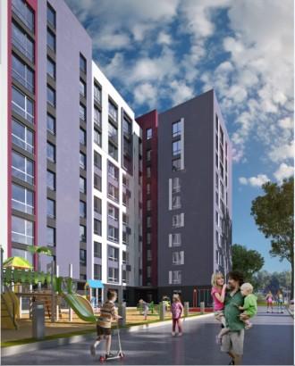ЖК Новые Метры Park!  Квартира 43 м2 имеет два окна в комнате, возможно перепла. Ирпень, Киевская область. фото 5