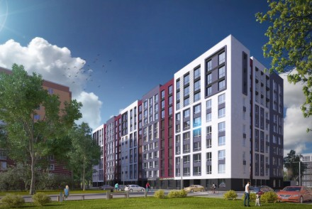 ЖК Новые Метры Park!  Квартира 43 м2 имеет два окна в комнате, возможно перепла. Ирпень, Киевская область. фото 4