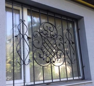 Изготовление решеток на окна от економ до елитного класа. Также изготовление вор. Запорожье, Запорожская область. фото 6